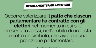 Presentata la proposta di riforma dei Regolamenti parlamentari