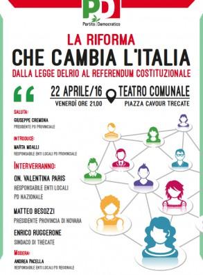 La riforma che cambia l'Italia. Dalla legge Delrio al referendum costituzionale