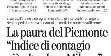 """Emergenza Covid-19 in Piemonte, Rossi: """"Tra i compiti dell'opposizione c'è aiutare chi governa a farlo e contribuire a identificare le soluzioni. Serve, però, qualcuno che ascolti"""""""