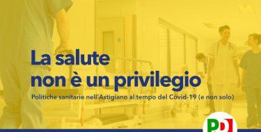 """PD ASTI. Videoconferenza """"La salute non è un privilegio"""" con Mauro Salizzoni (23 ottobre 2020 ore 18,30)"""