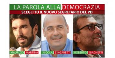 Domenica 3 marzo – PrimariePD La parola alla democrazia