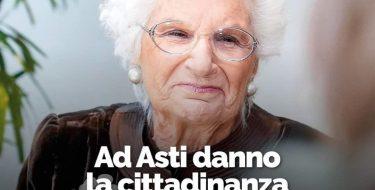 Asti da la cittadinanza onoraria a Segre ma non la toglie a Mussolini