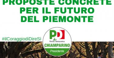 """SICUREZZA: DAL PD PROPOSTE CONCRETE PER IL FUTURO DEL PIEMONTE"""""""