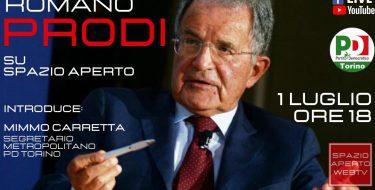 SPAZIO APERTO WEB TV. Live Fb con Romano Prodi (1 luglio 2020 h 18,00)