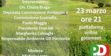 23/03 Ore 21 – Transazione ecologica: quali azioni e quali opportunità?
