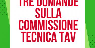 """FURIA: """"TRE DOMANDE SULLA COMMISSIONE TECNICA TAV"""""""