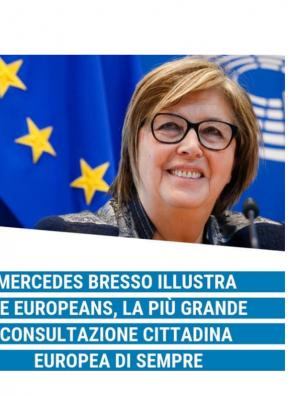 Mercedes Bresso illustra WeEuropeans, la più grande consultazione cittadina europea di sempre