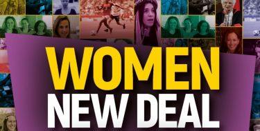 WOMEN NEW DEAL – Materiali di comunicazione