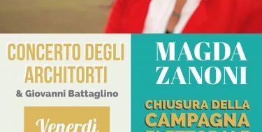 02/03 Pinerolo. Chiusura campagna elettorale di Magda Zanoni con il concerto degli Architorti
