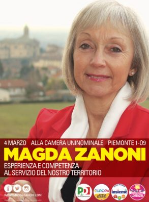 17-19/02 Agenda Elettorale di Magda Zanoni